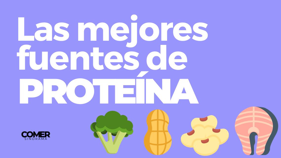Las mejores fuentes de proteína